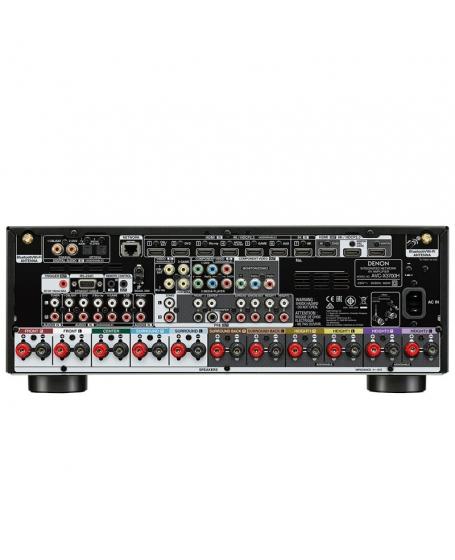 Denon AVC-X3700H 9.2Ch 8K Atmos Network AV Receiver