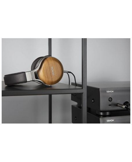 Denon AHD-9200 Bamboo Over-Ear Premium Headphones