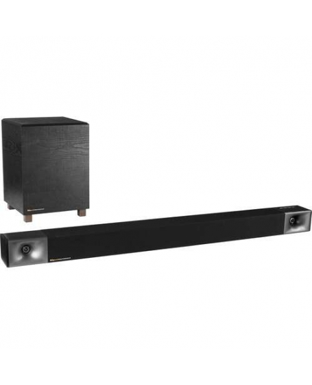 Klipsch BAR 40 2.1 Soundbar with Wireless Subwoofer (Opened Box New)