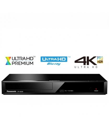Panasonic DP-UB320GAK Blu-ray Disc Player (Opened Box New)