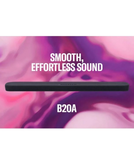 Yamaha SR-B20A Sound Bar with Built-in Subwoofer