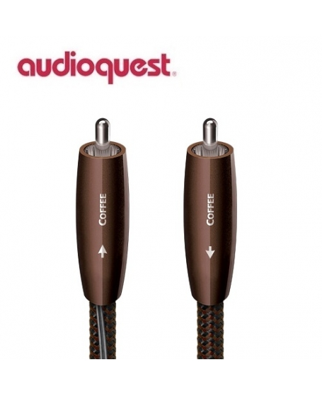 Audioquest Coffee Digital Coax Cables 1.5Meter