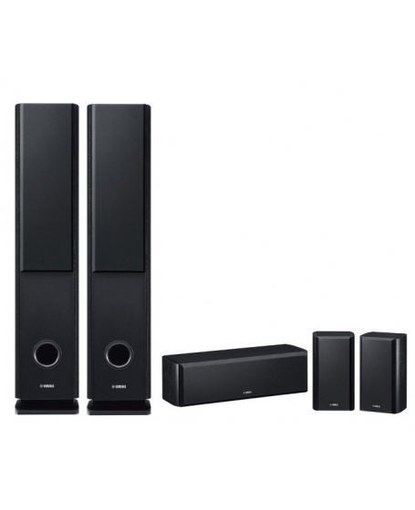 Denon AVR-X550BT + Yamaha NS-160 5.0Ch Home Theatre Package