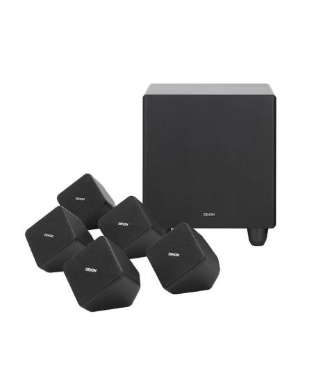 Denon AVR-X250BT + Denon SYS-2020 5.1Ch Home Theatre Package