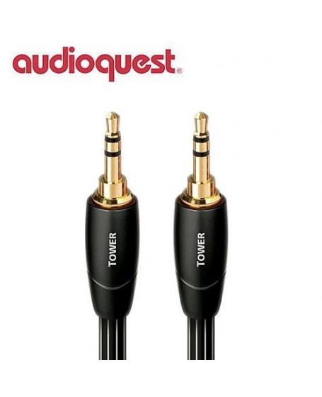 Audioquest Tower 3.5mm to 3.5mm Interconnect 1.5Meter