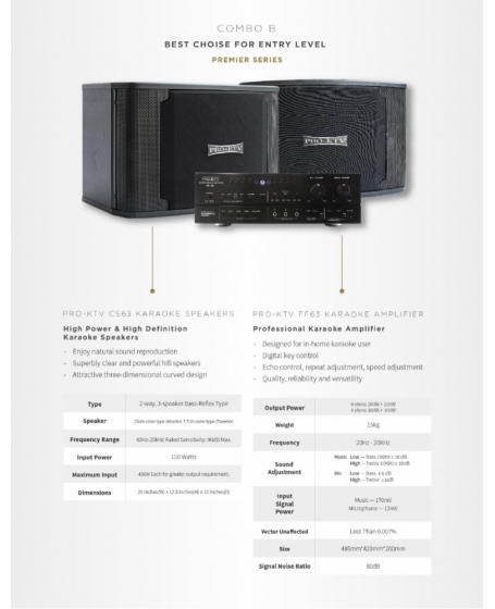 Pro-Ktv Karaoke System - Premier Series