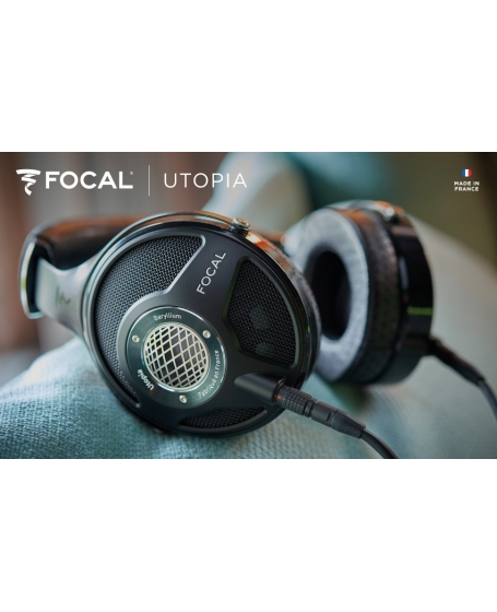 Focal Utopia Open-back Circum-aural Headphones Made In France
