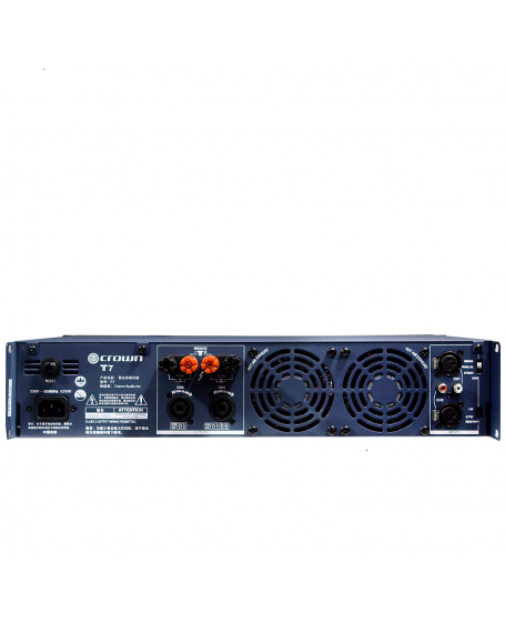 Crown T7 Power Amplifier