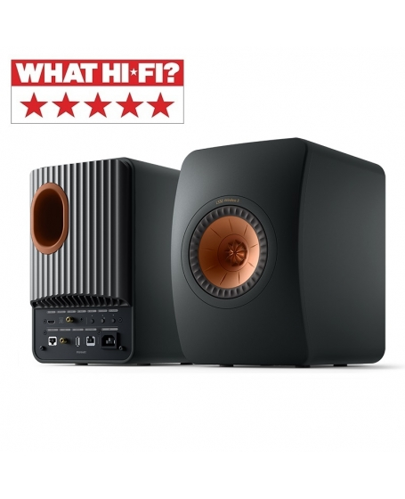KEF LS50 Wireless II Powered Bookshelf Speaker