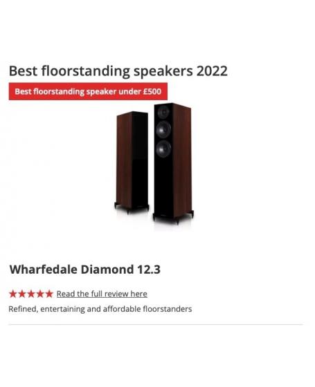 Wharfedale Diamond 12.3 Floorstanding Speaker