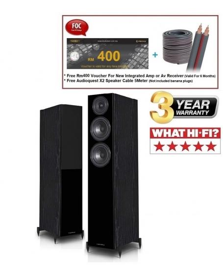 Wharfedale Diamond 12.4 Floorstanding Speaker