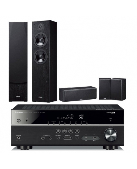 Yamaha RX-V385 + Yamaha NS-51 5.0Ch Home Theatre Package