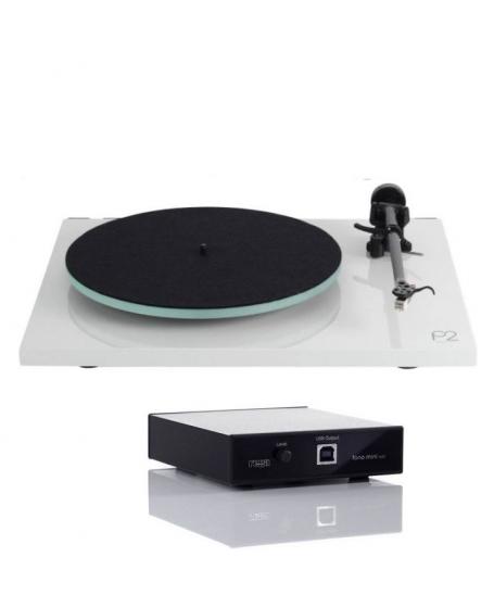 Rega Planar 2 Turntable + Fono Mini A2D MK2 Phono Pre Amp Combo