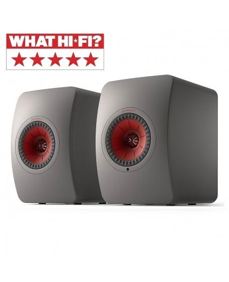 KEF LS50 Wireless II Powered Bookshelf Speaker