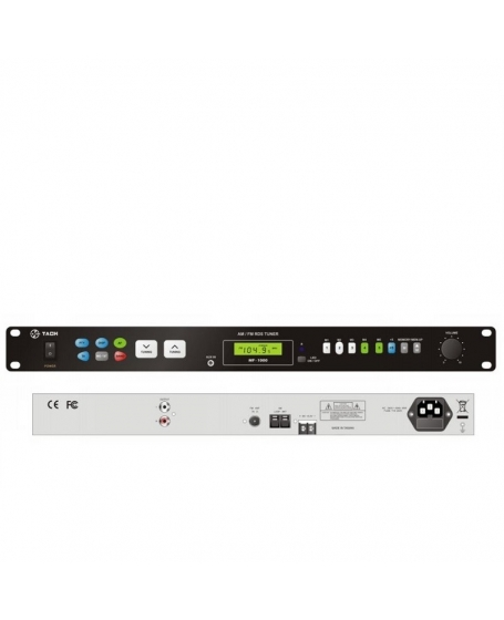 Tach MF-1000 AM / FM RDS TUNER with LED Backlight Buttons