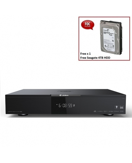 Zidoo UHD3000 HIFI 4K UHD Media Play