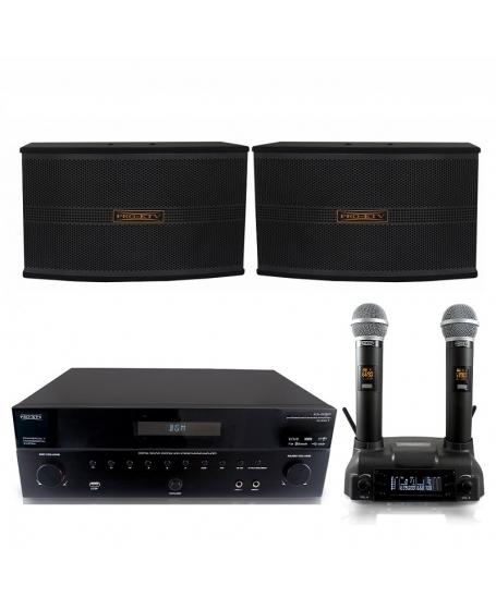 Pro Ktv KA33BT Karaoke Package B