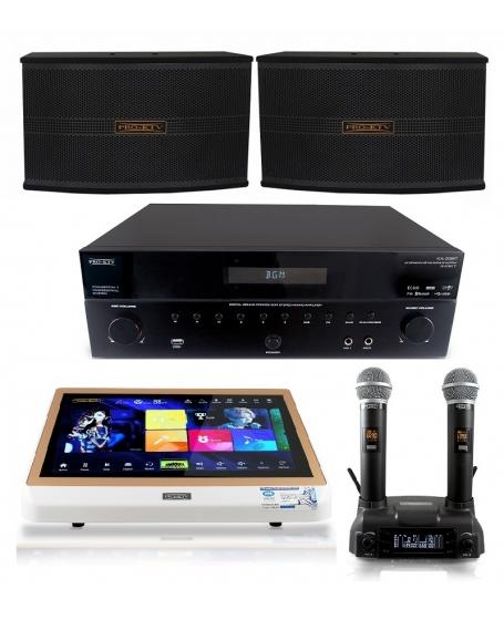 Pro Ktv KA33BT Karaoke Package A