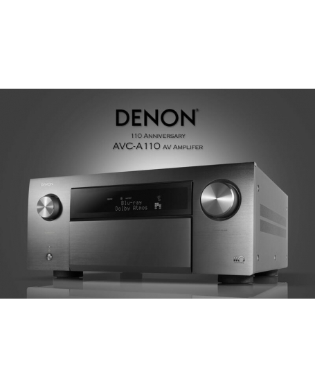 Denon AVC-A110 110th Anniversary Edition AV Receiver Made In Japan ( DU )
