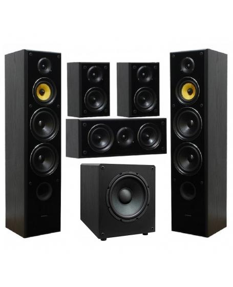 Taga Harmony TAV-606 V.3 + TSW-90 V.3 5.1 Speaker Package