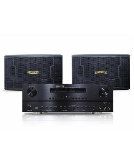 Pro Ktv Combo B KA99 + SS633 Karaoke System