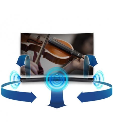 Samsung HW-J7501R 4.1Ch Curved Soundbar With Wireless Subwoofer ( PL )