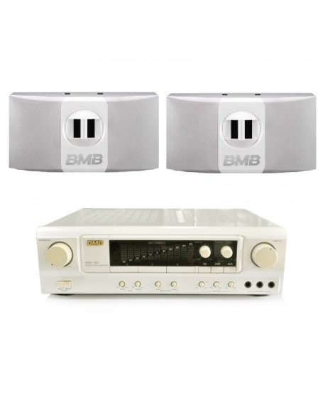 BMB DAR-100 + BMB CSR-100 Karaoke Package