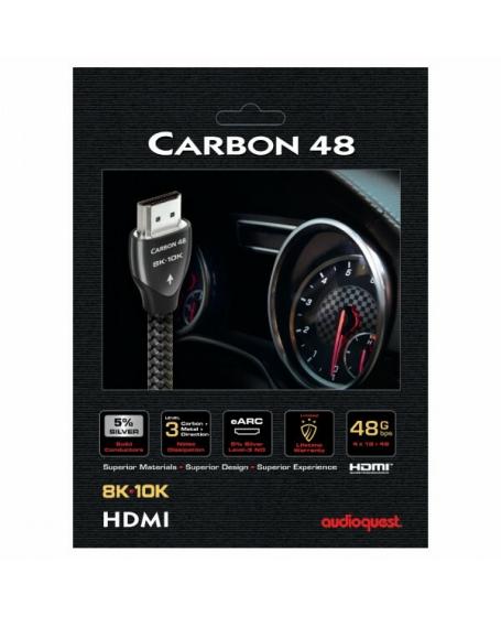 Audioquest Carbon 48 8K HDMI Cable 2 Meter
