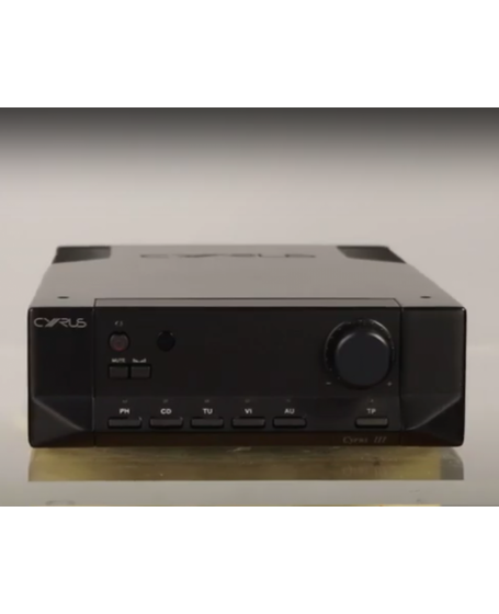 Cyrus 3 Integrated Amplifier Made In England ( PL )
