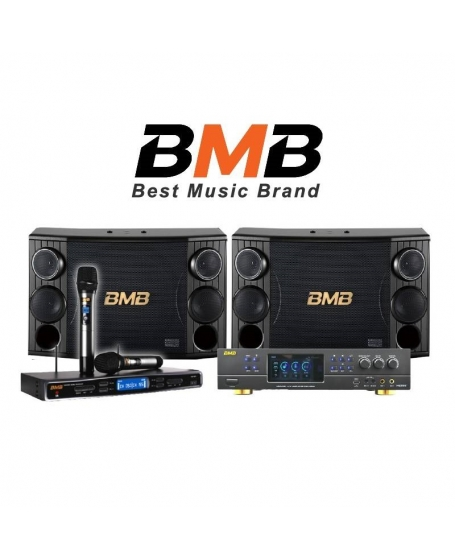 BMB DAR350 + CSD12 Karaoke Package