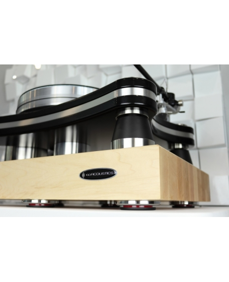 IsoAcoustics Delos 1815M1 Turntable Isolation Platform (Maple)