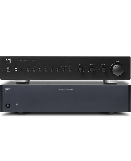 NAD C 165BEE + C 268 Pre and Power Amplifier Package