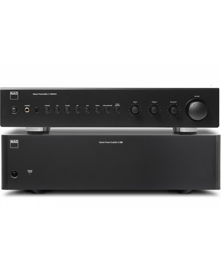 NAD C 165BEE + NAD C 298 Pre and Power Amplifier Package