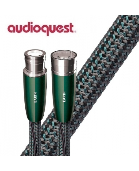 Audioquest Earth XLR to XLR Analog Audio Interconnect Cable 1.5Meter (Pair) Made In USA