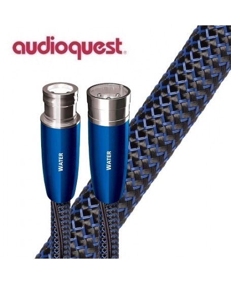 Audioquest Water XLR to XLR Analog Audio Interconnect Cable 1.5Meter (Pair) Made In USA