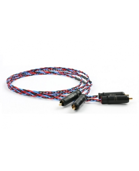 Kimber Kable Classic PBJ WBT 0114 CU Analog Interconnect Cable 2 Meter Made In USA