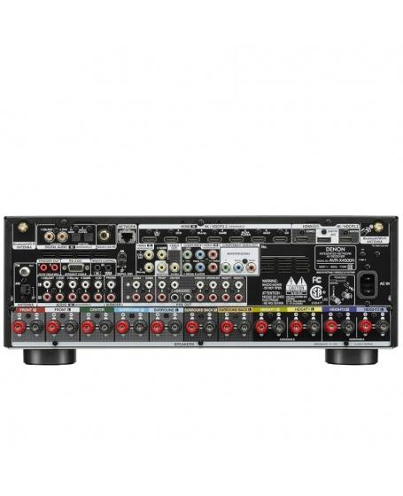 Denon AVR-X4500H 9.2Ch Atmos Network Av Receiver ( DU )