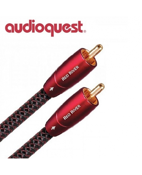 Audioquest Red River RCA To RCA Interconnect 1.5meter (Opened Box New)