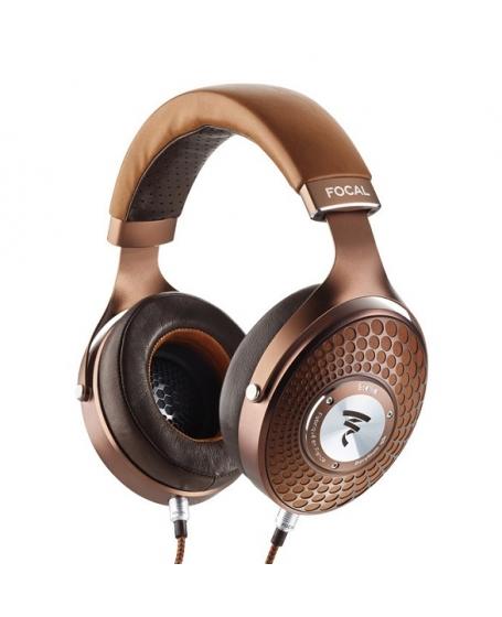 Focal Stellia Closed-Back Circum-Aural Headphones (Chocolate) Made In France