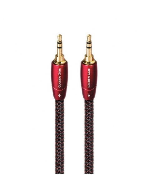 Audioquest Golden Gate 3.5mm to 3.5mm Interconnects 1.5Meter