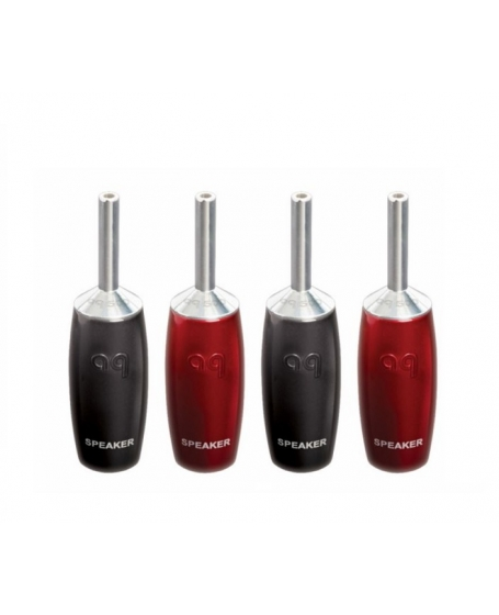 Audioquest 500 Series Banana Silver (Set of 4)