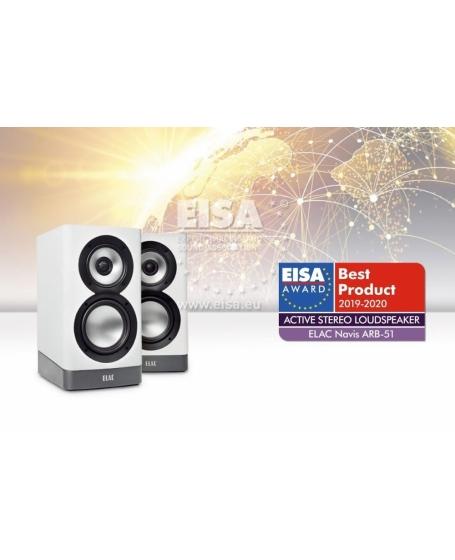ELAC Navis ARB-51 Powered Bookshelf Speaker (DU)