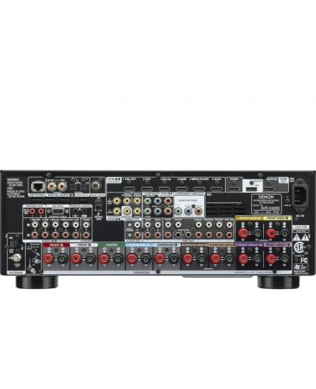 Denon AVR-X4000 7.2Ch Network AV Receiver (PL)