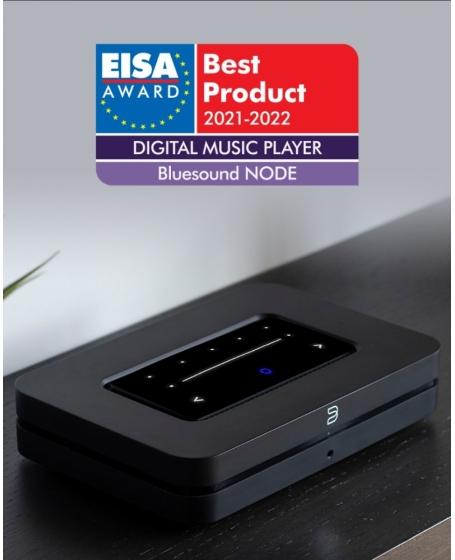 Bluesound NODE (2021) Wireless Multi-Room Hi-Res Music Streamer