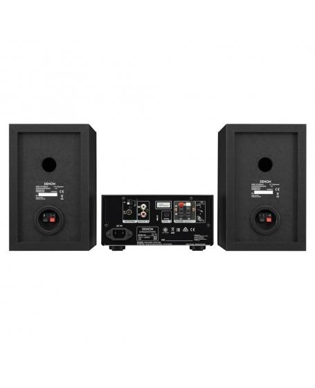 Denon D-T1 Hi-Fi Mini System with CD and Bluetooth (DU)