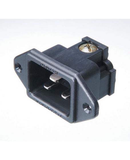 Furutech FI-33(R) Rhodium-Plated 20A IEC Inlet