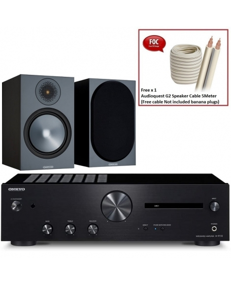Onkyo A-9110 + Monitor Audio Bronze 50 6G Hi-Fi System Package