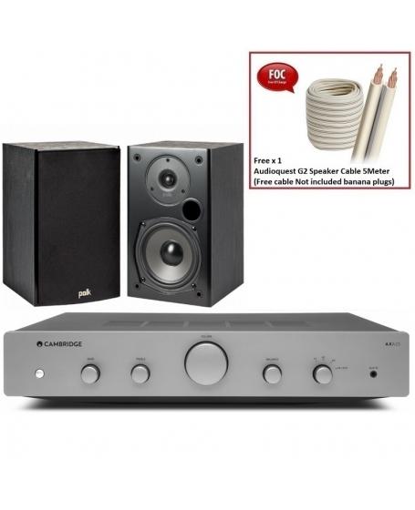 Cambridge Audio AXA25 + Polk Audio T15 Hi-Fi System Package