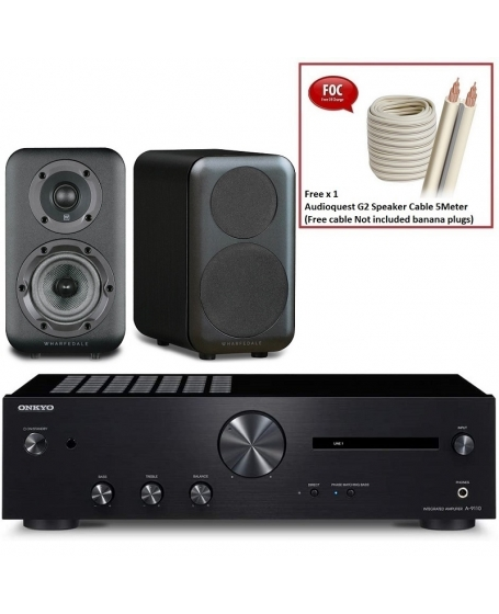 Onkyo A-9110 + Wharfedale D310 Hi-Fi System Package