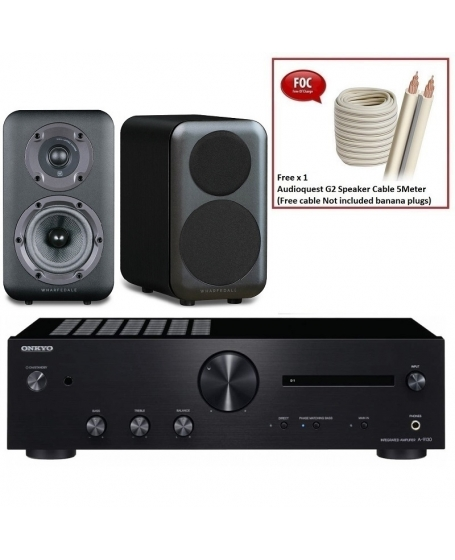 Onkyo A-9130 + Wharfedale D320 Hi-Fi System Package